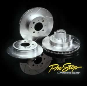 "98-02 LS1/V6 Powerslot ""ProStop"" Dimpled/Slotted Rotor - LF"