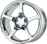 Chrome Replica Corvette C5 Y2K Wheels 18x9.5