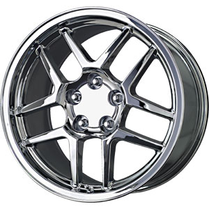 Chrome Replica Z-06 Wheels 18x9.5