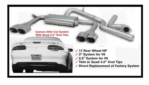 98-02 LS1 B&B Triflo Camaro After Cat Exhaust System