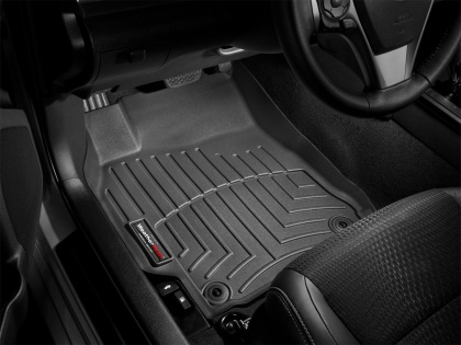 2005-2013 C6 Corvette WeatherTech Front FloorLiner - Black