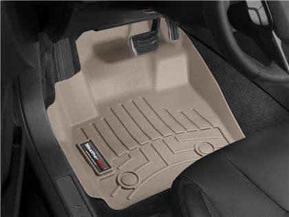 2005-2013 C6 Corvette WeatherTech Front FloorLiner - Tan