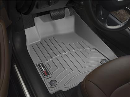 2005-2013 C6 Corvette WeatherTech Front FloorLiner - Grey